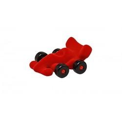 MODENA LITTLE RACER formula 1 morbida ROSSA gomma naturale RUBBABU caucciu 100% NATURAL gioco tattile 1+