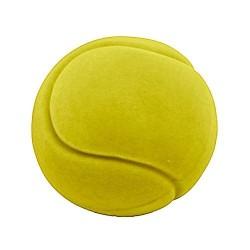 TENNIS BALL palla morbida GIALLA gomma naturale RUBBABU caucciu GIOCO tattile 1+