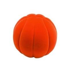 BASKET BALL ORANGE palla morbida ARANCIONE gomma naturale RUBBABU caucciu GIOCO tattile 1+