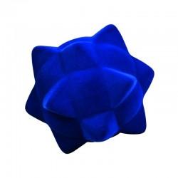 POKY BALL BLUE palla morbida BLU gomma naturale RUBBABU caucciu GIOCO tattile 1+