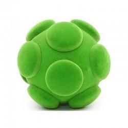SUBMARINE BALL palla morbida SOTTOMARINO VERDE gomma naturale RUBBABU caucciu GIOCO tattile 1+