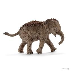 ELEFANTE ASIATICO CUCCIOLO 2018 animali in resina SCHLEICH miniature 14755 Wild Life ELEPHANT età 3+