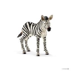 ZEBRA CUCCIOLO 2018 animali in resina SCHLEICH miniature 14811 Wild Life FOAL età 3+