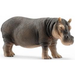 IPPOPOTAMO 2018 animali in resina SCHLEICH miniature 14814 Wild Life HIPPO età 3+