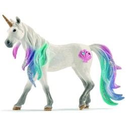 UNICORNO DI MARE giumenta BAYALA animali in resina SCHLEICH miniature 70570 Fantasy 3+