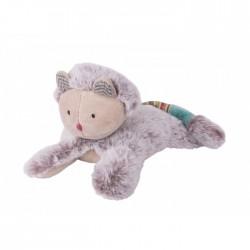 PELUCHE gatto GATTINO pupazzo SONORO morbido LES PACHATS Moulin Roty MIAOU 660030 bambola