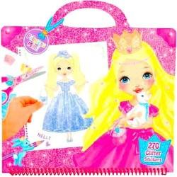 ALBUM my stile princess TOP MODEL studio PRINCIPESSA MIMI con manici DEPESCHE 270 stickers glitterati 6556_A