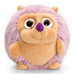RICCIO peluche 22 CM morbido KEEL TOYS pupazzo VIOLA bambola ADORABALLS hedgehog