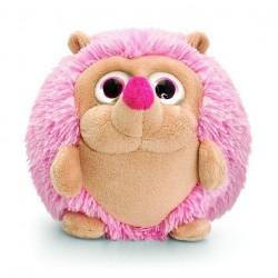 RICCIO peluche 22 CM morbido KEEL TOYS pupazzo ROSA bambola ADORABALLS hedgehog