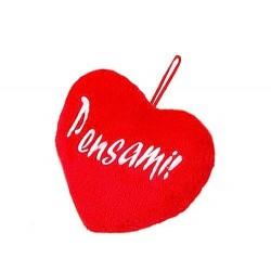 PENSAMI morbido CUSCINO san valentino CUORE amore ROSSO da appendere HEART