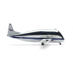 AIRBUS AERO SPACELINE 377SGT SUPER GUPPY NASA Herpa 553179 scala 1:200 plane model