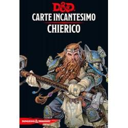 CHIERICO carte incantesimo DUNGEONS & DRAGONS 5a Edizione 153 MAXI CARTE incantatore IN ITALIANO