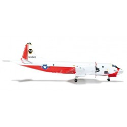 US NAVY VX-30 BLOODHOUNDS LOCKHEED NP-3D ORION aereo in metallo 523752 modellino HERPA WINGS scala 1:500