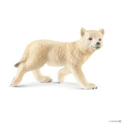 LUPO ARTICO CUCCIOLO animali WILD LIFE gioco SCHLEICH miniature in resina 14804 età 3+