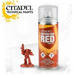 SPRAY ROSSO MEPHISTON RED Citadel 400 ml paint base Games Workshop