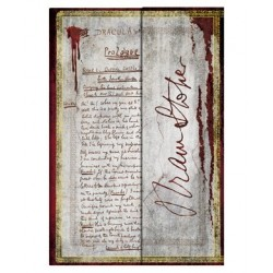 Diario a righe BRAM STOKER DRACULA mini cm 10x14 - PAPERBLANKS 176 pagine