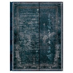 Diario bianco SAINT EXUPERY Terra degli uomini ultra Paperblanks cm 18x23 taccuino