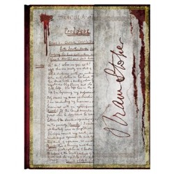 Diario a righe BRAM STOKER DRACULA ultra cm 23x18 - PAPERBLANKS taccuino