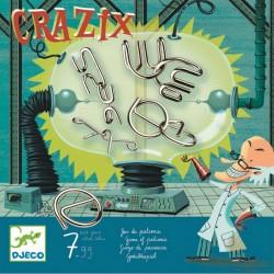 CRAZIX gioco di pazienza ROMPICAPO in metallo DJECO con soluzioni DJ08463 età 7+