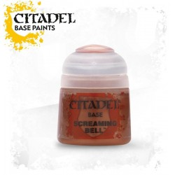 SCREAMING BELL Citadel paint colore acrilico base 12 ml Warhammer Games Workshop
