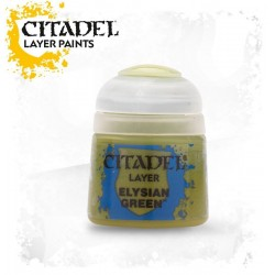 ELYSIAN GREEN Citadel paint colore acrilico layer 12 ml Warhammer Games Workshop