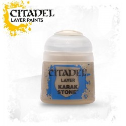 KARAK STONE Citadel paint colore acrilico layer 12 ml Warhammer Games Workshop
