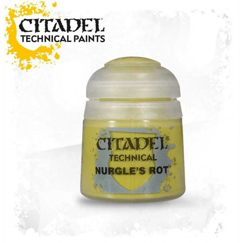 NURGLE'S ROT colore TECHNICALS Citadel WARHAMMER Games Workshop PUSTOLE verde 12 ML