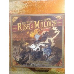 THE WORLD OF SMOG RISE OF MOLOCH Kickstarter edition including EMBASSY expansion and exclusive stretch goals