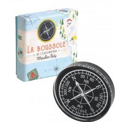 BUSSOLA in stile retro per piccoli esploratori Moulin Roty 712213