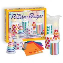 MIE PRIME CANDELE Sentosphere 2359 kit creativo per creare candele multicolori da 8 anni