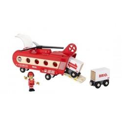 ELICOTTERO CARGO Brio 33886 Heavy Transport per ferrovia e treni in legno