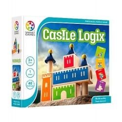 CASTLE LOGIX gioco solitario 2018 logica SMART GAMES puzzle EDUCATIVO età 3+