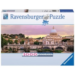 PUZZLE ravensburger ROMA panorama 1000 pezzi 98 x 38 cm