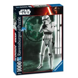 PUZZLE Ravensburger STAR WARS Stormtrooper 1000 PEZZI 50 x 70 cm DISNEY ultimate collection