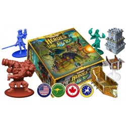 HEROES OF AIR LAND AND SEA DELUXE Kickstarter Edition ALL EXPANSIONS included