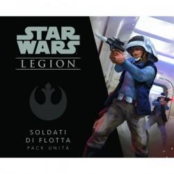 STAR WARS LEGION espansione SOLDATI DI FLOTTA pack unità ASMODEE Disney 7 MINIATURE età 14+