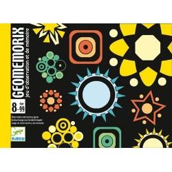 GEOMEMORIX gioco di carte DJECO memory DJ05182 posizioni FORME età 8+