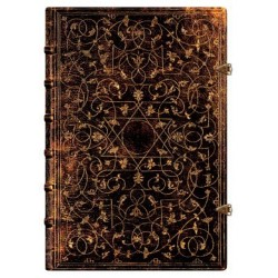 Diario bianco GROLIER grande cm 21x30 - PAPERBLANKS quaderno rilegato