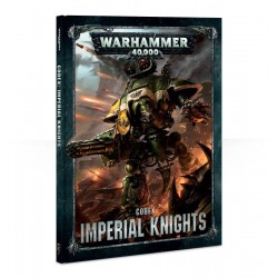 CODEX IMPERIAL KNIGHTS manuale in italiano 2018 Warhammer 40k cavalieri imperiali