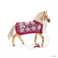 KIT CREAZIONI MODA cavalli SCHLEICH set gioco HORSE CLUB 42431 miniature in resina SOFIA età 5+