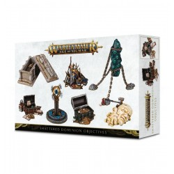 OBIETTIVI SHATTERED DOMINIONS Warhammer Age of Sigmar 7 Markers Citadel