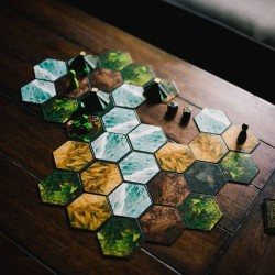 THE ISLAND OF EL DORADO Kickstarter first edition strategic board game Black Box