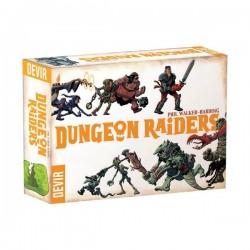 DUNGEON RAIDERS edizione italiana Devir gioco di carte Fantasy