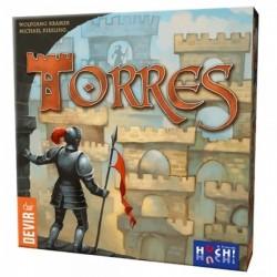TORRES gioco da tavolo di strategia di costruzione castello - edizione DEVIR multilingue