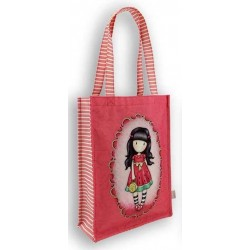 SHOPPER BAG Gorjuss EVERY SUMMER HAS A STORY borsa 290GJ17 Santoro ROSA
