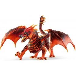 DRAGO DI FUOCO Schleich 70138 Eldrador Lava Dragon con ali mobili