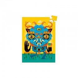 MINI PUZZLE gioco THE MONSTER Djeco 60 PEZZI in cartone 16 x 22 cm DJ06751 età 5+