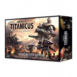 ADEPTUS TITANICUS GRAND MASTER EDITION the Horus Heresy Warhammer 40k