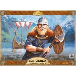 878 - VIKINGS invasioni dell'inghilterra ACADEMY GAMES gioco cooperativo IN ITALIANO età 12+