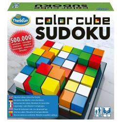 COLOR CUBE SUDOKU Think Fun GIOCO DI LOGICA rompicapo COLORI 500000 soluzioni 3X3 età 8+